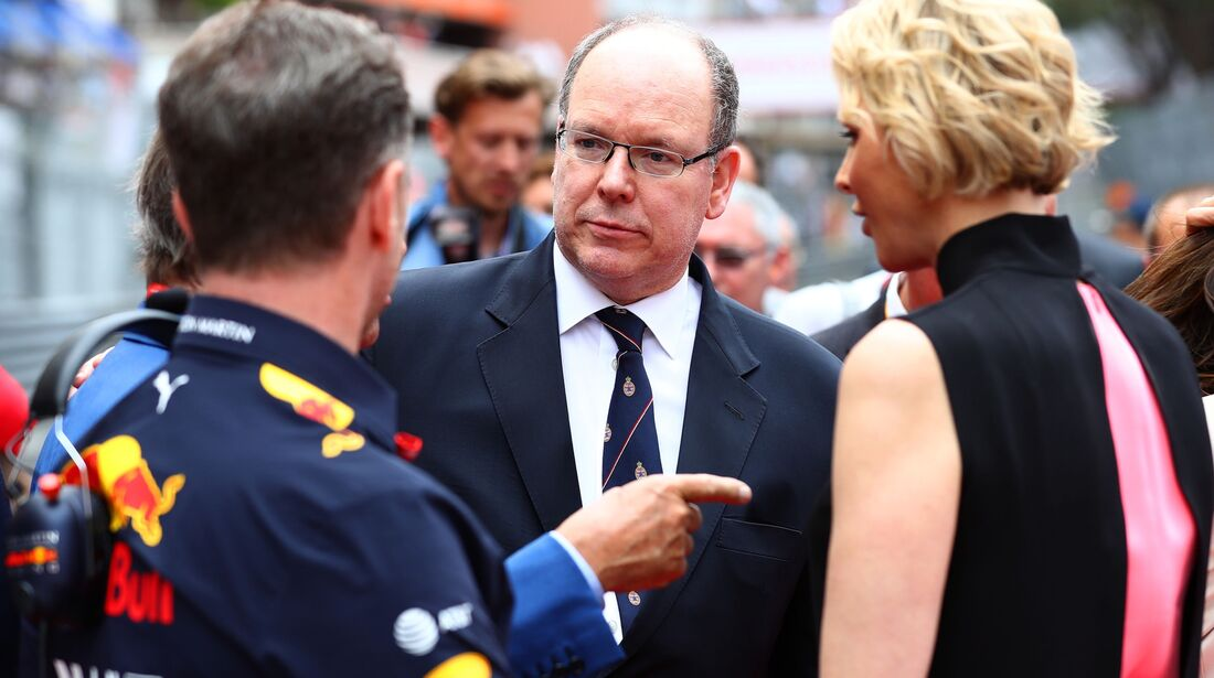Fürst Albert von Monaco - Formel 1 - GP Monaco - 26. Mai 2019