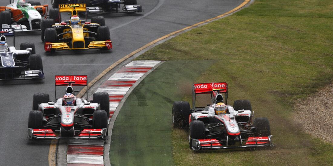 GP Australien 2010 Lewis Hamilton