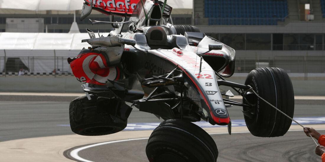 GP Bahrain 2008 Lewis Hamilton