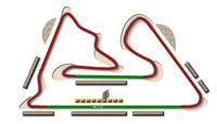 GP Bahrain Sakhir Strecke DRS Zone 2013