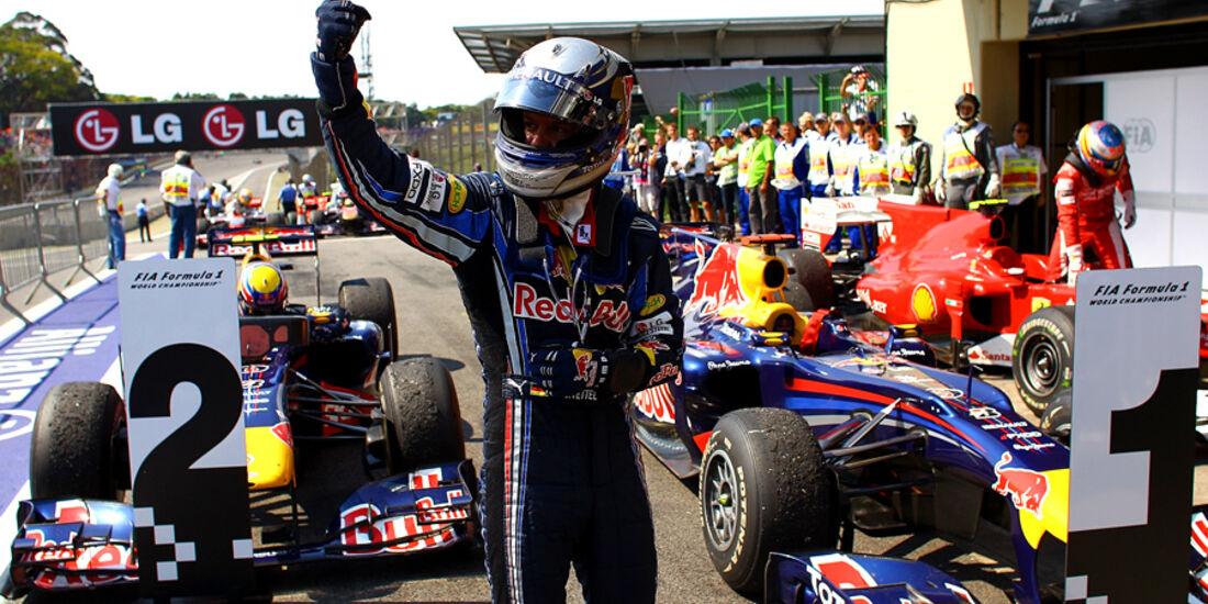 GP Brasilien 2010 - Parc Ferme