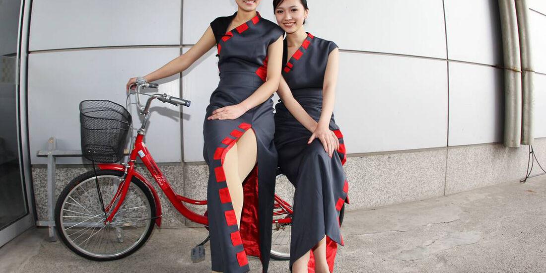 GP China 2012 Grid Girls