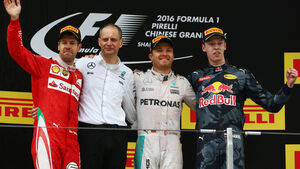 GP China 2016 - Podium