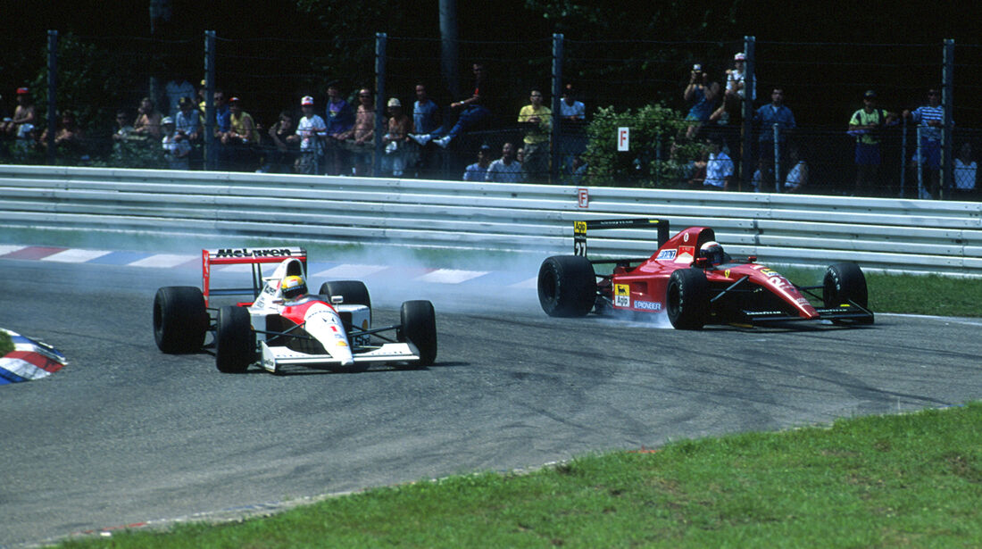 GP Deutschland Hockenheim 1991 Senna Prost