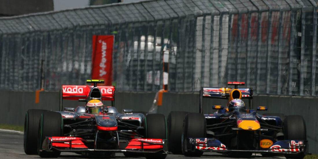 GP Kanada 2010 Hamilton Vettel