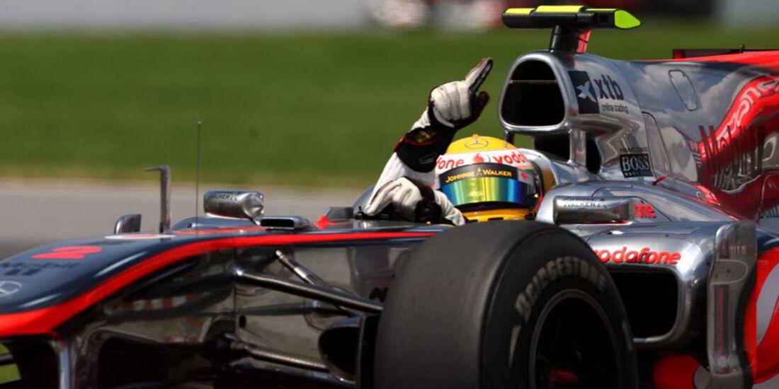 GP Kanada 2010 Hamilton