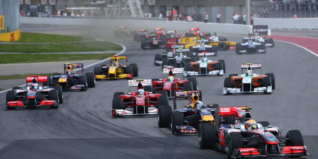 GP Kanada 2010 Start