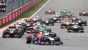 GP Korea 2013 - Start