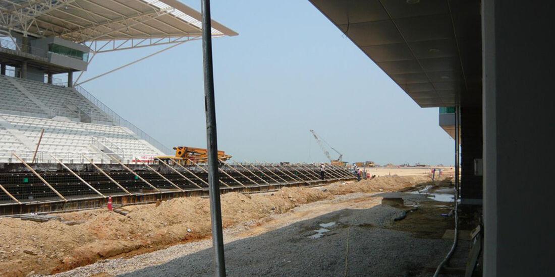 GP Korea Baustelle