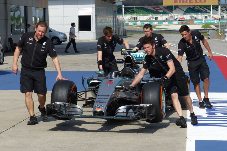 GP Malaysia - Mercedes - Formel 1 - Donnerstag - 26.3.2015