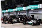 GP Malaysia - Nico Rosberg - Lewis Hamilton - Mercedes - Qualifikation - Samstag - 28.3.2015