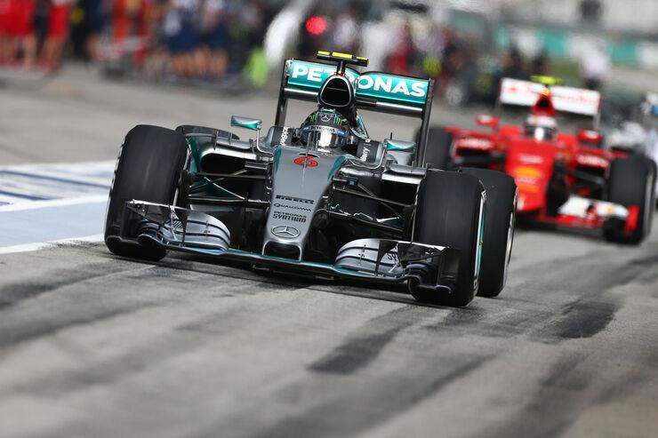 GP Malaysia - Nico Rosberg - Mercedes - Qualifikation - Samstag - 28.3.2015