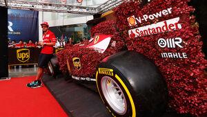 GP Singapur - Ferrari - 2014
