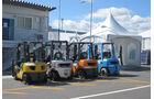 Gabelstapler - GP Japan - Suzuka - 6. Oktober 2011
