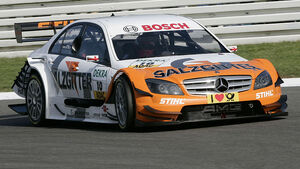 Garry Paffet, DTM Lausitz 2009, HWA Mercedes