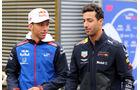 Gasly & Ricciardo - GP Belgien - Spa-Francorchamps - 24. August 2018