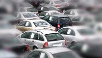 Gebrauchtwagenmarkt