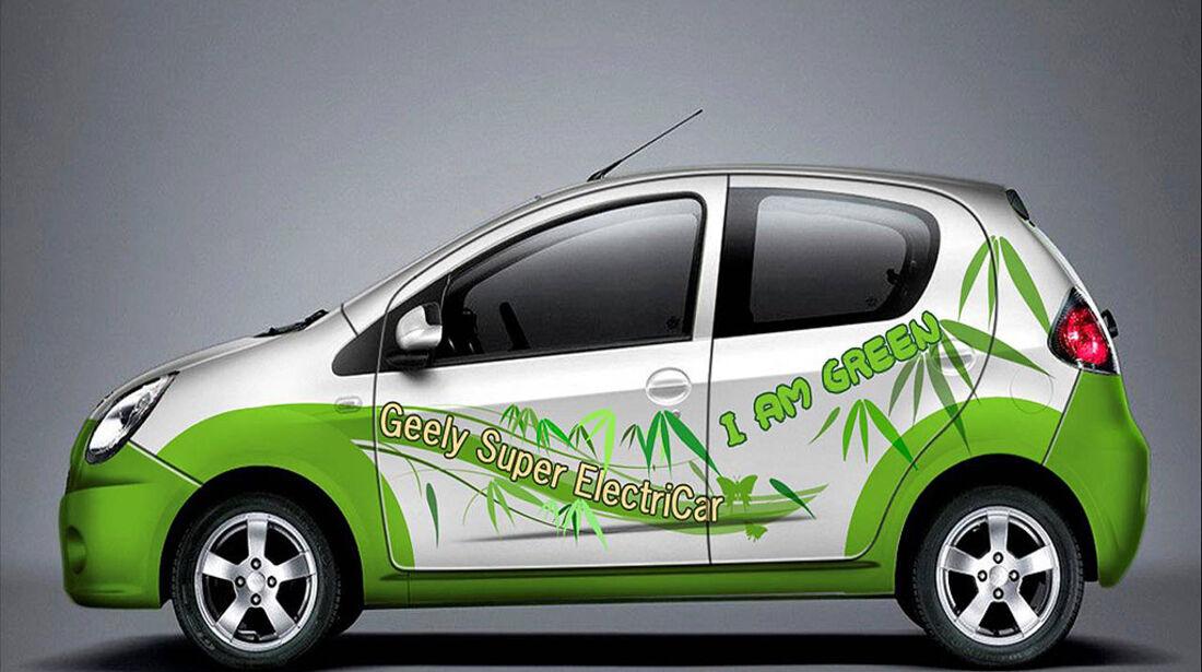 Geely EK-2 Shanghai Auto Show 2009