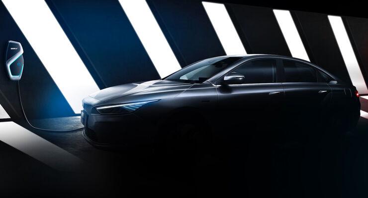 Geely Elektroauto 2019