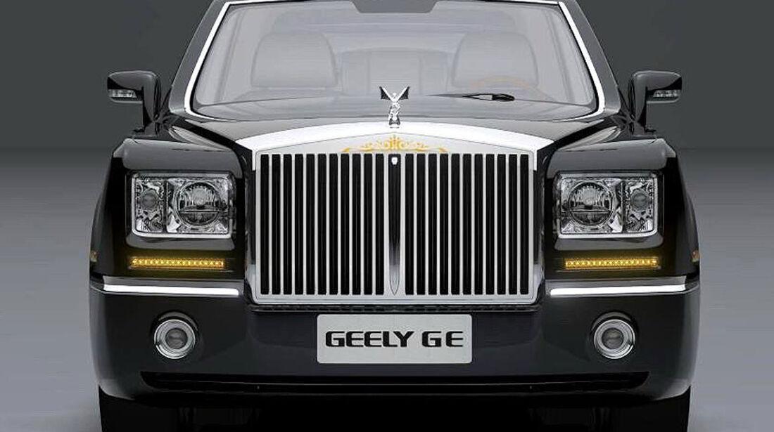 Geely GC GE Shanghai Auto Show 2009