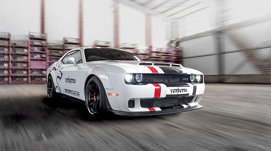 Geiger-Dodge Challenger Hellcat Cerberus - Tuning - Coupé - sport auto Award 2019