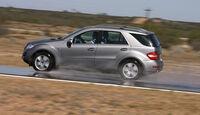 Geländewagen, Reifentest, Mercedes ML