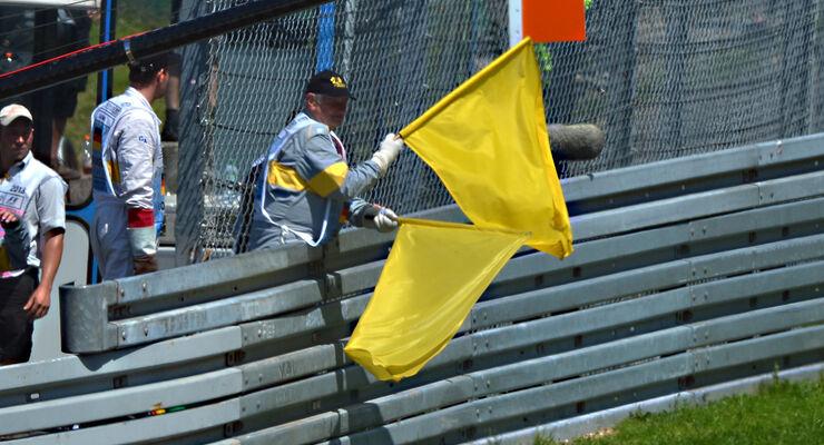 Gelbe Flaggen