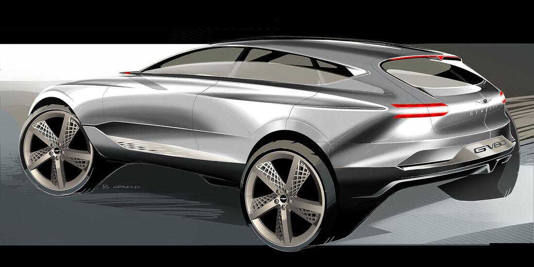 Genesis GV80 Fuel Cell Concept