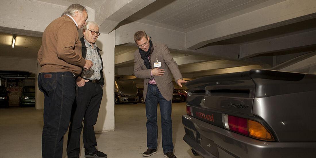 George Gallion, Erhard Schnell und Jens Katemann