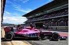 George Russell - Force India - Formel 1 - Testfahrten - Barcelona - 15.5.2018
