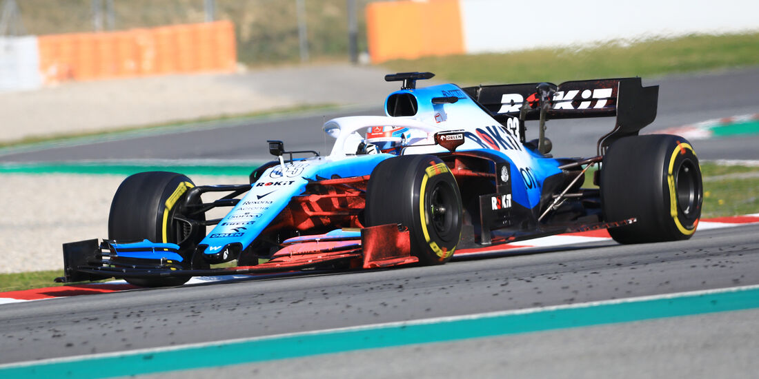 George Russell - Williams - Barcelona - F1-Test - 28. Februar 2019