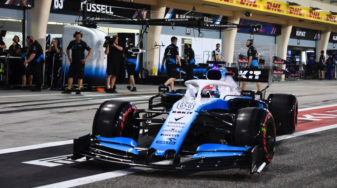 George Russell - Williams - Formel 1 - GP Bahrain - 30. März 2019