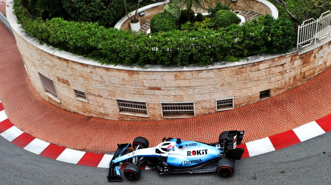 George Russell - Williams - Formel 1 - GP Monaco - 23. Mai 2019