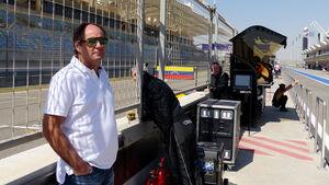 Gerhard Berger - Bahrain Test 2014