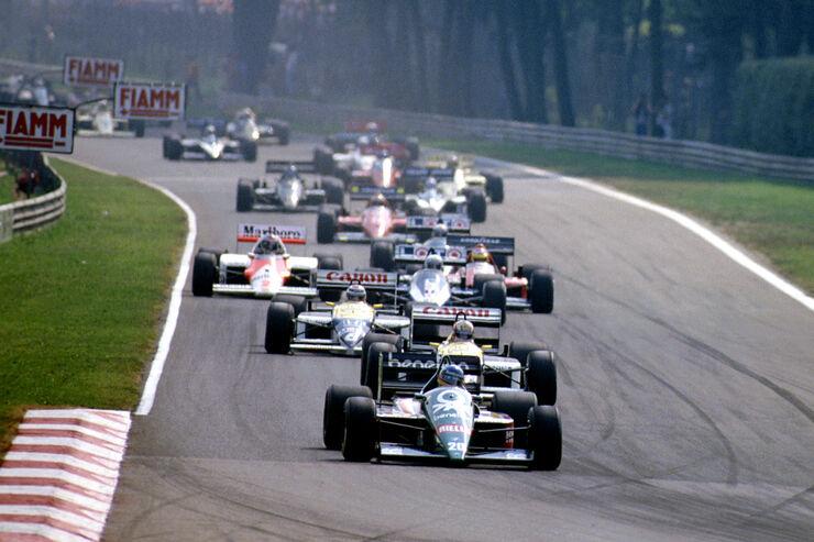 Gerhard Berger - Benetton-BMW B186 Turbo - GP Italien 1986