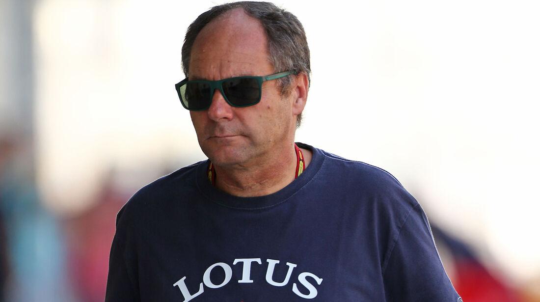 Gerhard Berger - Formel 1 - Test - Abu Dhabi - 26. November 2014