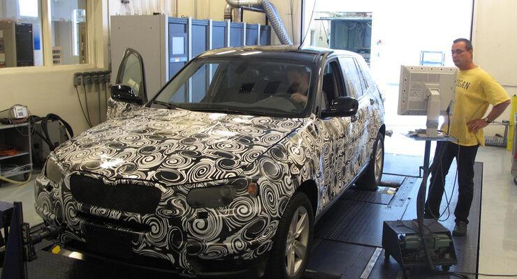 Getarnter BMW