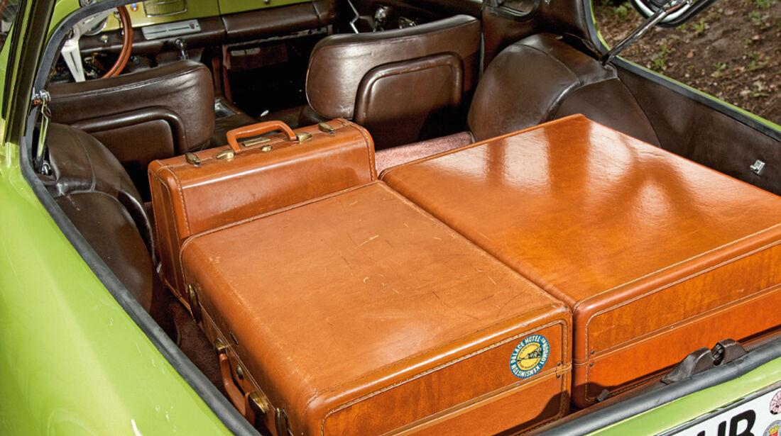 Ghia 230 S Prototipo, Kofferraum