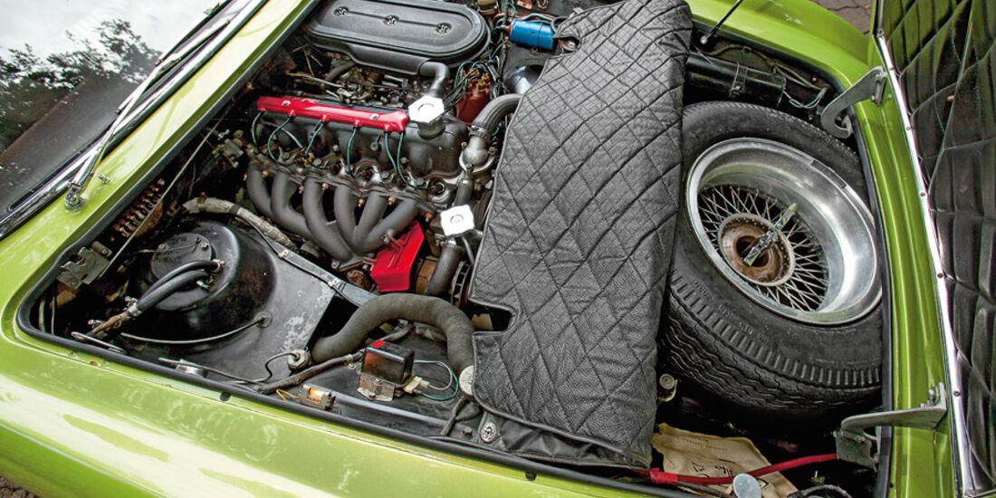 Ghia 230 S Prototipo, Motorraum