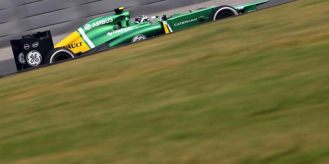 Giedo van der Garde - Caterham  - Formel 1 - GP Indien - 25. Oktober 2013