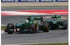 Giedo van der Garde - Caterham - GP Spanien 2013