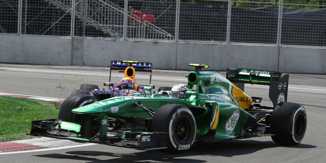 Giedo van der Garde - GP Kanada 2013