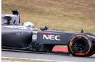 Giedo van der Garde - Sauber - F1 Test Barcelona (1) - 13. Mai 2014