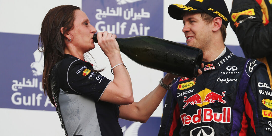 Gill Jones - GP Bahrain 2013