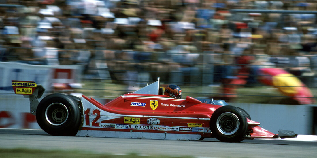 Gilles Villeneuve GP Deutschland 1979 Ferrari