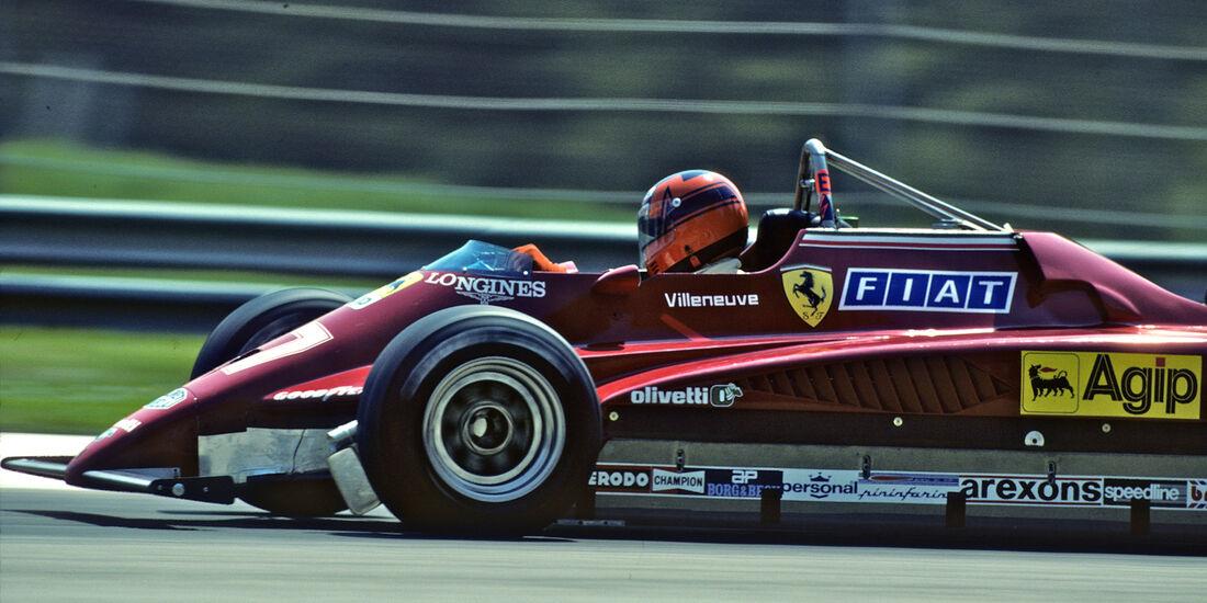 Gilles Villeneuve GP San Marino Imola 1982