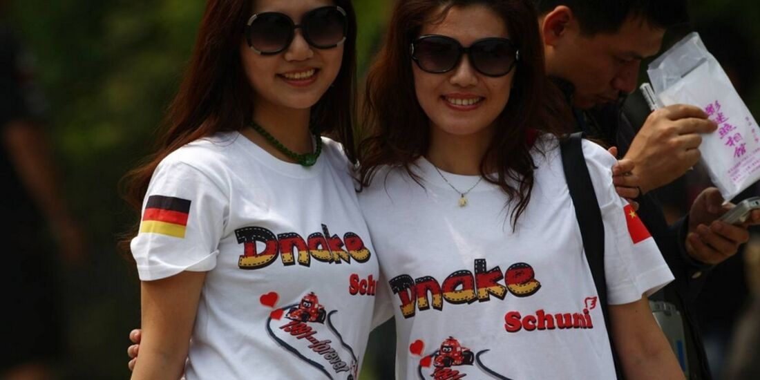 Girls Formel 1 GP China 2011