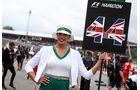 Girls - Formel 1 - GP England - 16. Juli 2017