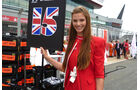 Girls Formel 1 GP England 2011