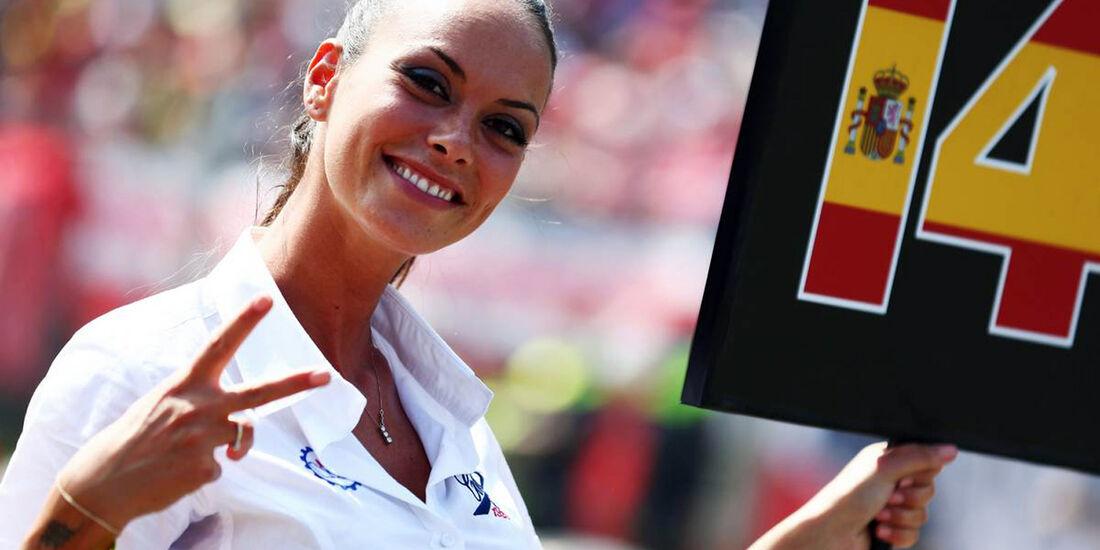 Girls - Formel 1 - GP Italien - 7. September 2014